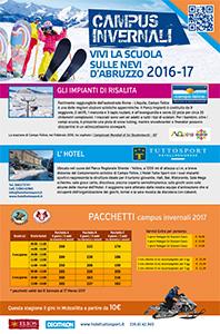 Volantino Campus invernale 2016/17