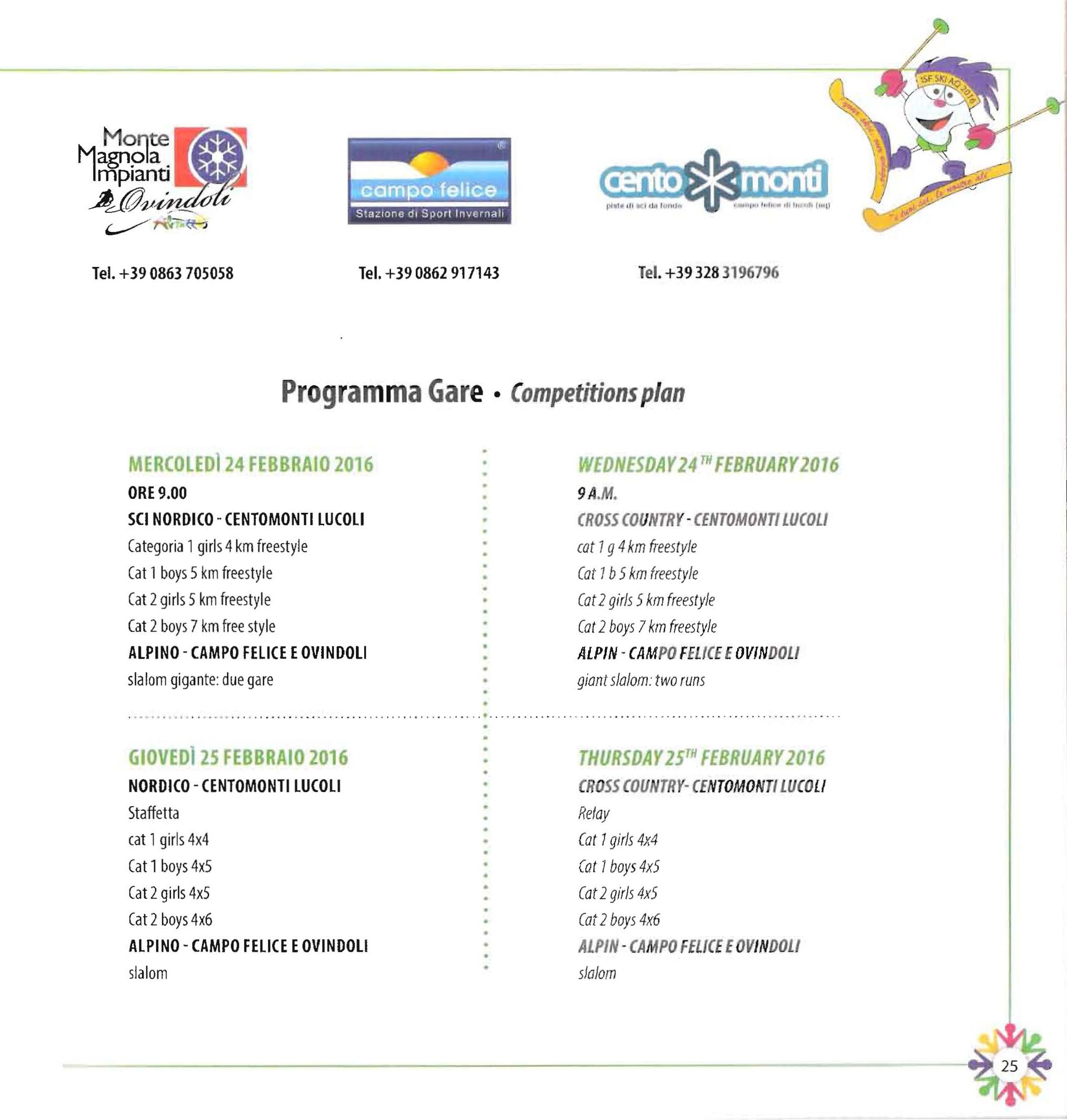 Programma-Gare